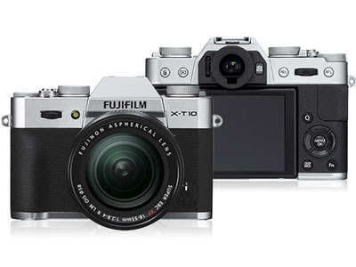 Fujifilm X-T10 Mirrorless Digital Camera Firmware Full Driversをダウンロード