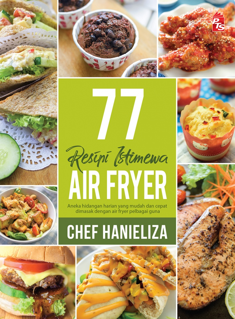 BELI 77 RESEPI AIR FRYER CHEF HANIELIZA DI SHOPEE