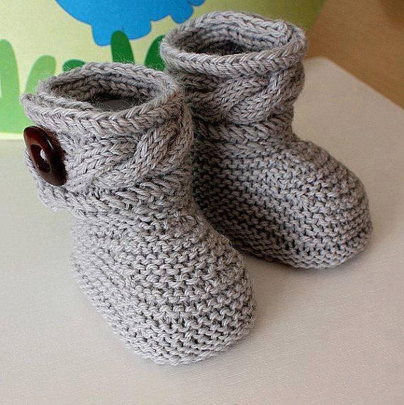 wzory botów szydełkiem