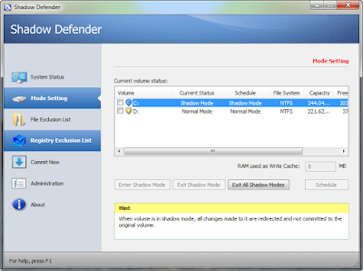 SHADOW DEFENDER 1.4.0.608