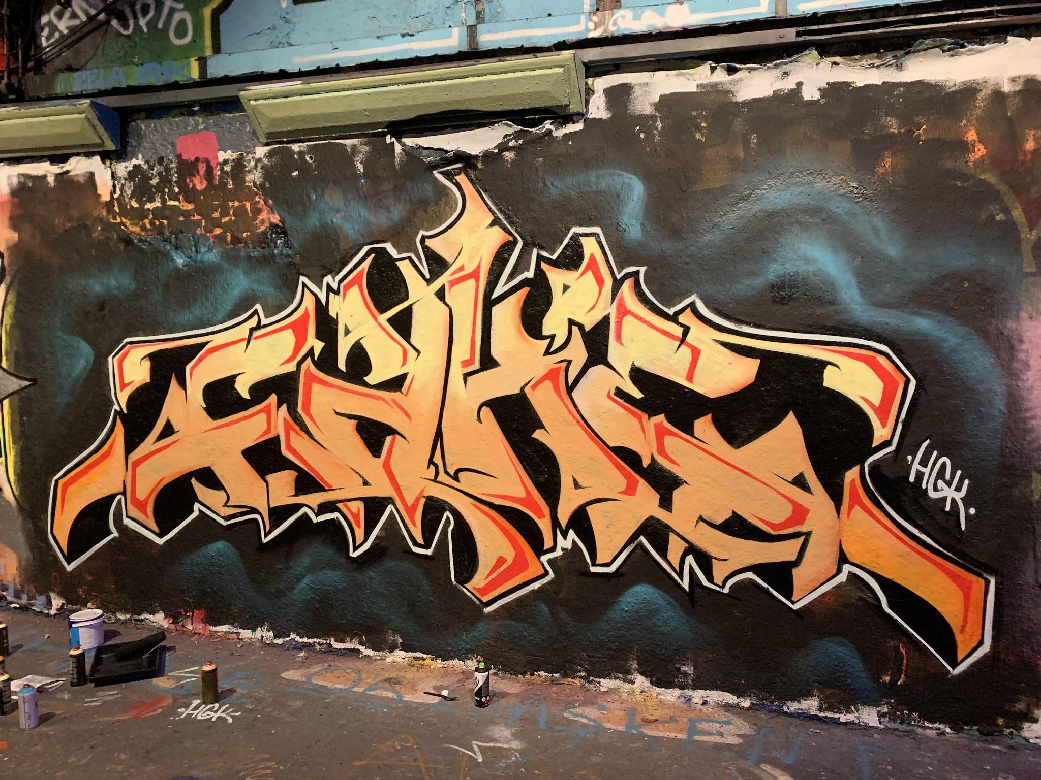 Gambar Grafiti Wildstyle