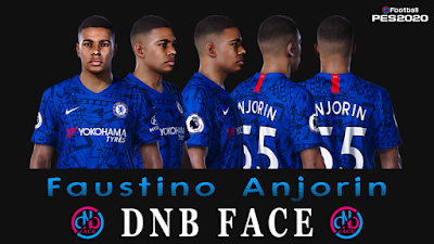 PES 2020 Faces Faustino Anjorin by DNB