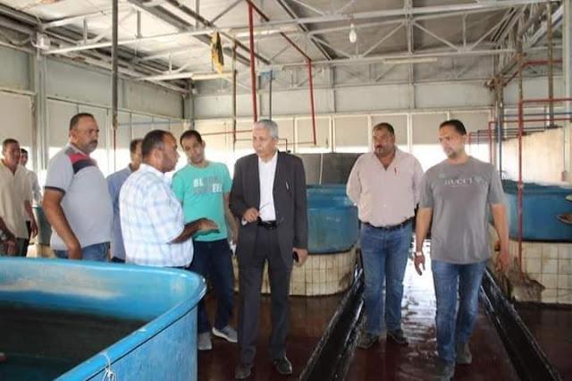 الزراعة تتابع مشروعات تنمية الثروة السمكية بمحافظتي دمياط وبورسعيد