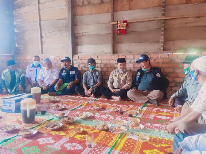 safari politik ke kerinci al haris disambut warga di bedeng 12