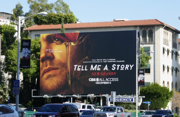Tell Me A Story season 2 billboard
