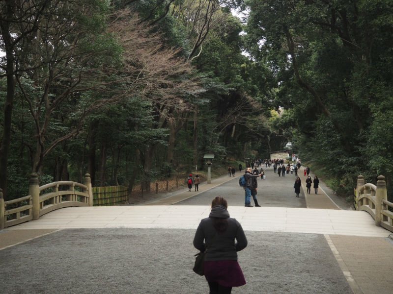 Meiji Shrine Entrance