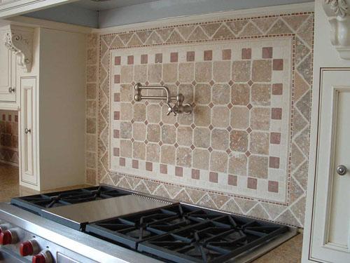 interesting kitchen backsplash tile design idea | Unique Stone Tile Backsplash Ideas Put Together To Try Out ...