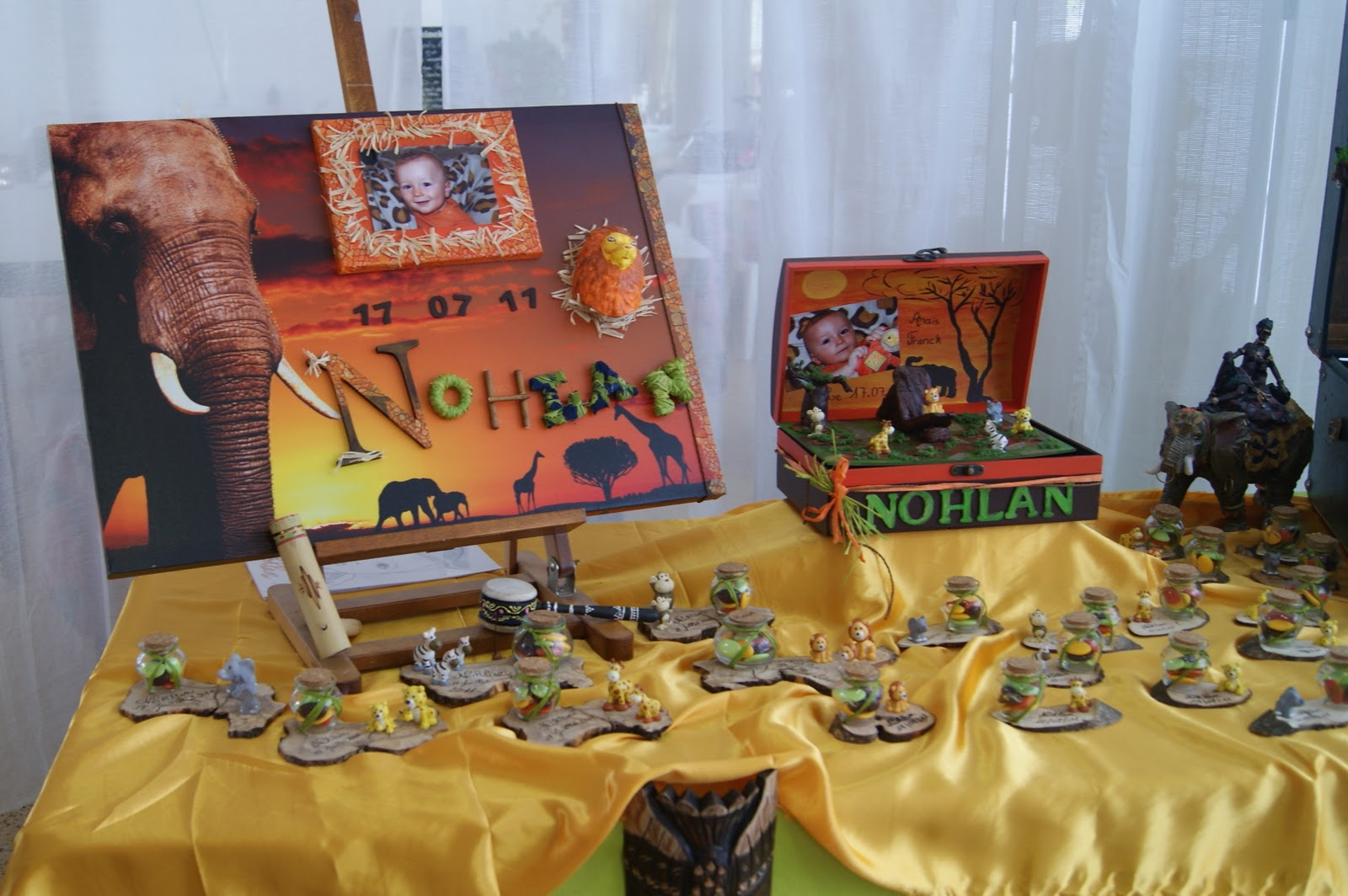Decoration Une Table Theme Roi Lion
