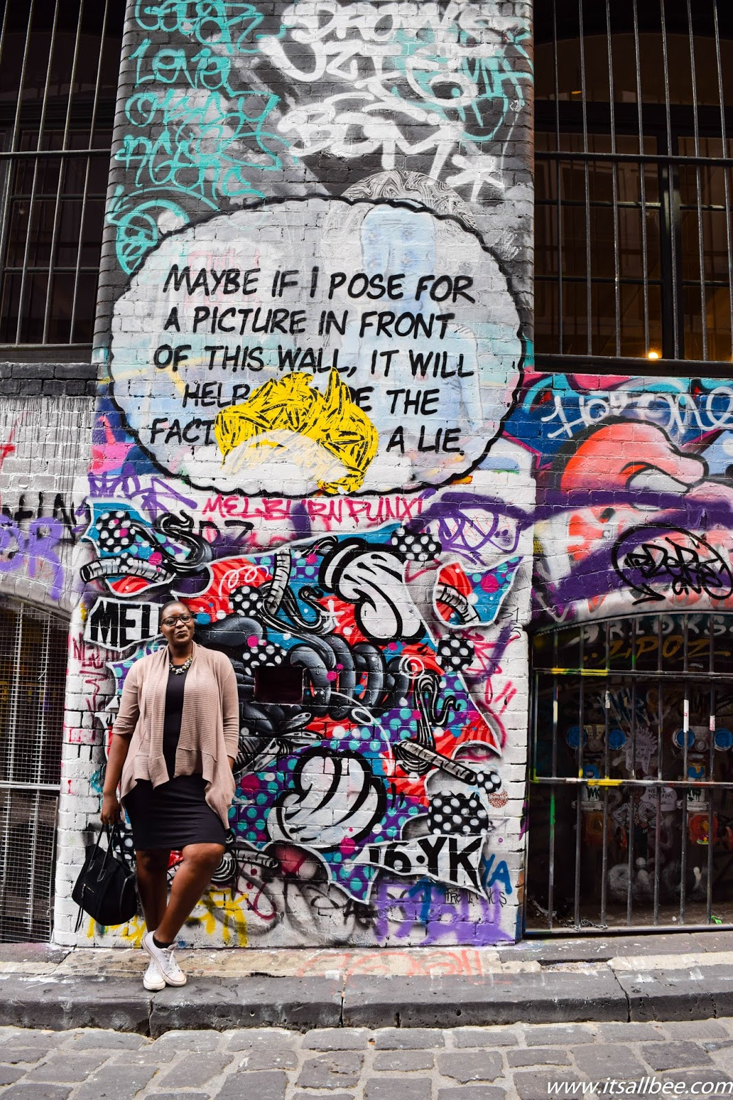 Melbourne Hosier Lane - Street Art
