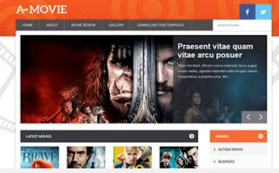 Movie - Template Keren untuk Blog Film Free Download