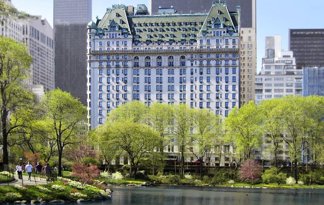 Plaza Hotel em Nova York em Nova York