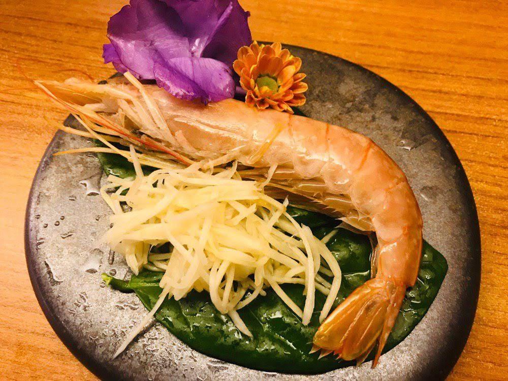 喜園涮涮鍋 超大天使紅蝦