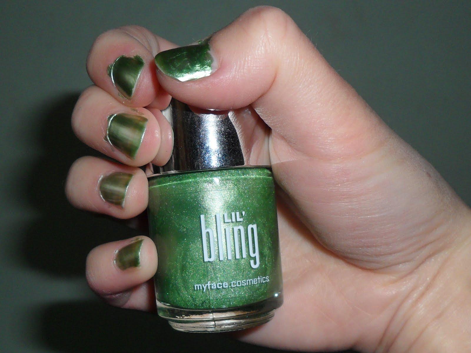 MyFace chrome lil'bling nail varnish