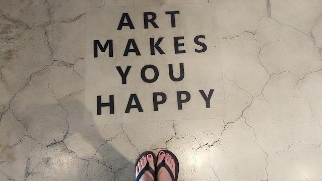 Art Makes You Happy QOTD - bigeyedkitteh