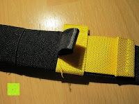 Verbindung gelb schwarz: LiHao Schlingentrainer Suspensiontrainer TRX Functional Training Fitness