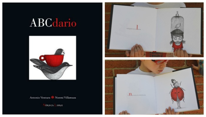 libro infantil abcdario, cuento sobre alfabeto