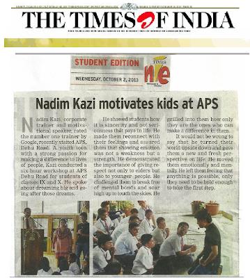 Nadeem Kazi in Media