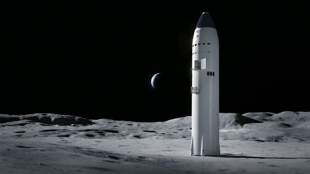 SpaceX lunar optimized Starship selected by NASA for Artemis program