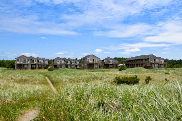 The terrible and spooky Oceanfront resort has haunted old cabins.
