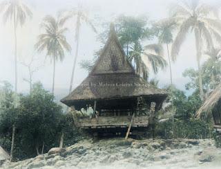 lumbung padi sopo di baturedan