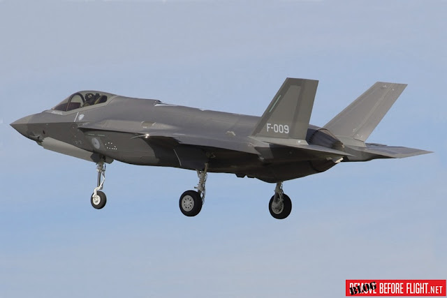 Dutch F-35A delivery Leeuwarden