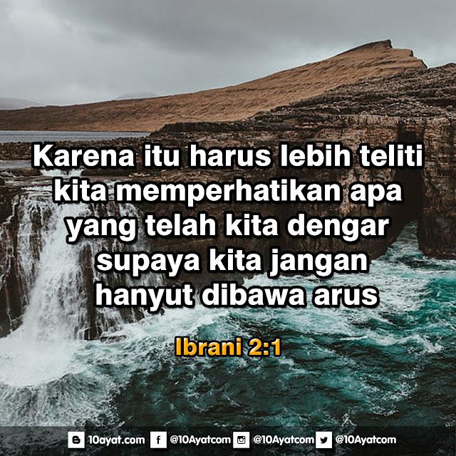 Ibrani 2:1