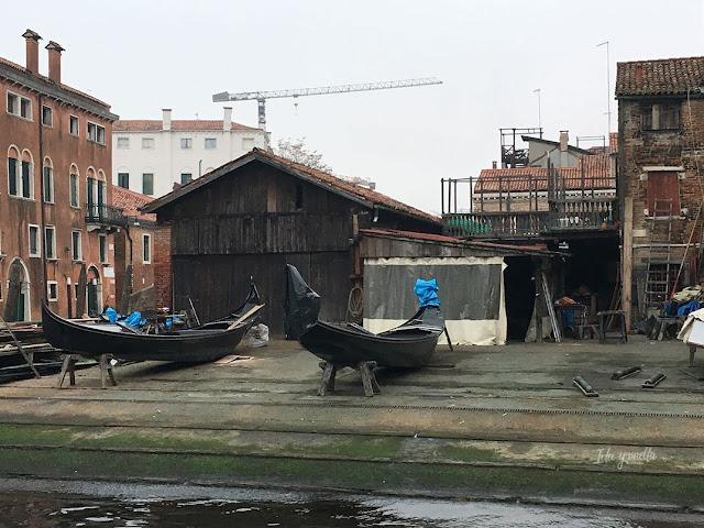 Qué hacer Venecia Squero San Trovaso