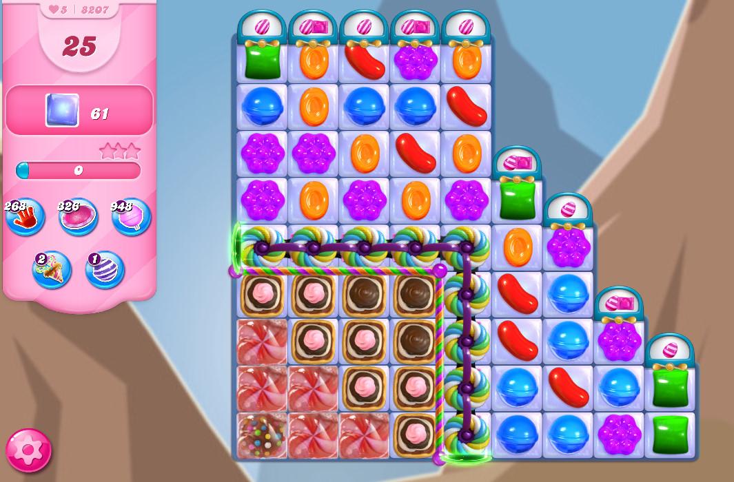 Candy Crush Saga level 8207