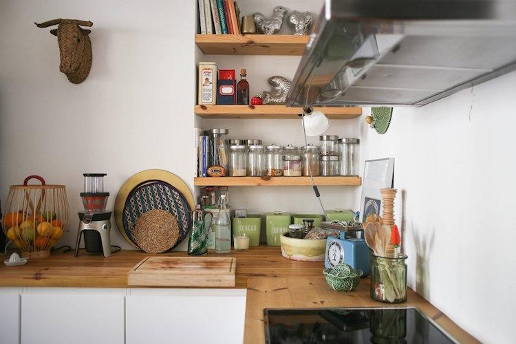 cocina madera y roble