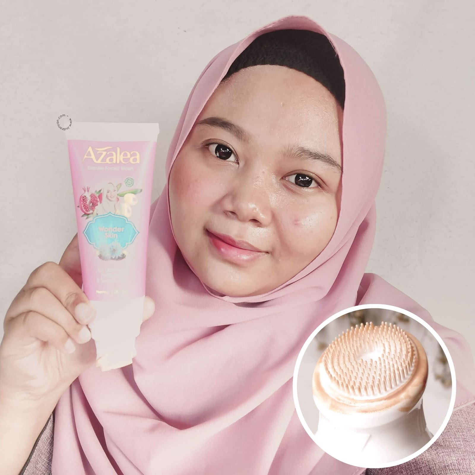 azalea-gentle-facial-wash-wonder-skin