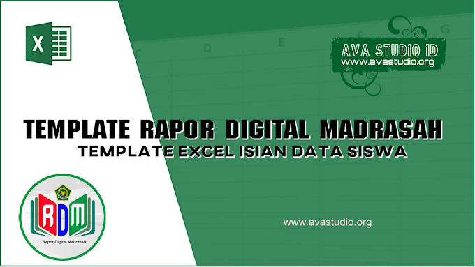 [Excel] Template Excel RDM 2021 - Isian Data Siswa