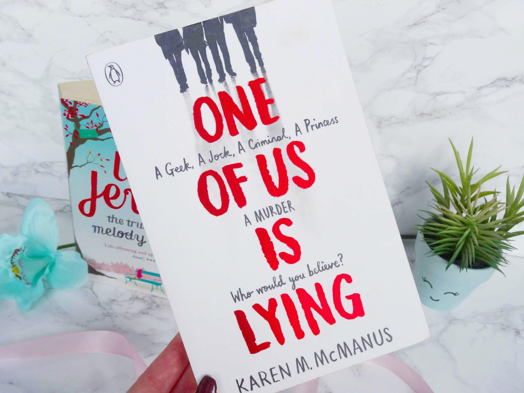 One of Us is Lying by Karen M.McManus Book