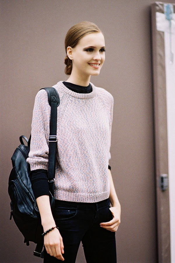 Vanessa Jackman Paris Couture Fashion Week Aw 2014 After Elie Saab
