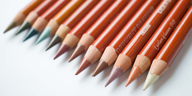 Derwent Drawing colored pencils - Review