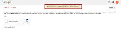 Cara Submit Artikel ke Google Webmaster Tools (Search Console)