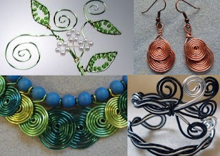 learn how make beaded wire-work