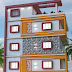 30 feet wide latest 3 floor front elevation design pent house
