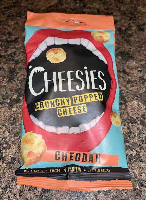 Cheesies – Crunchy Popped Cheese – Cheddar