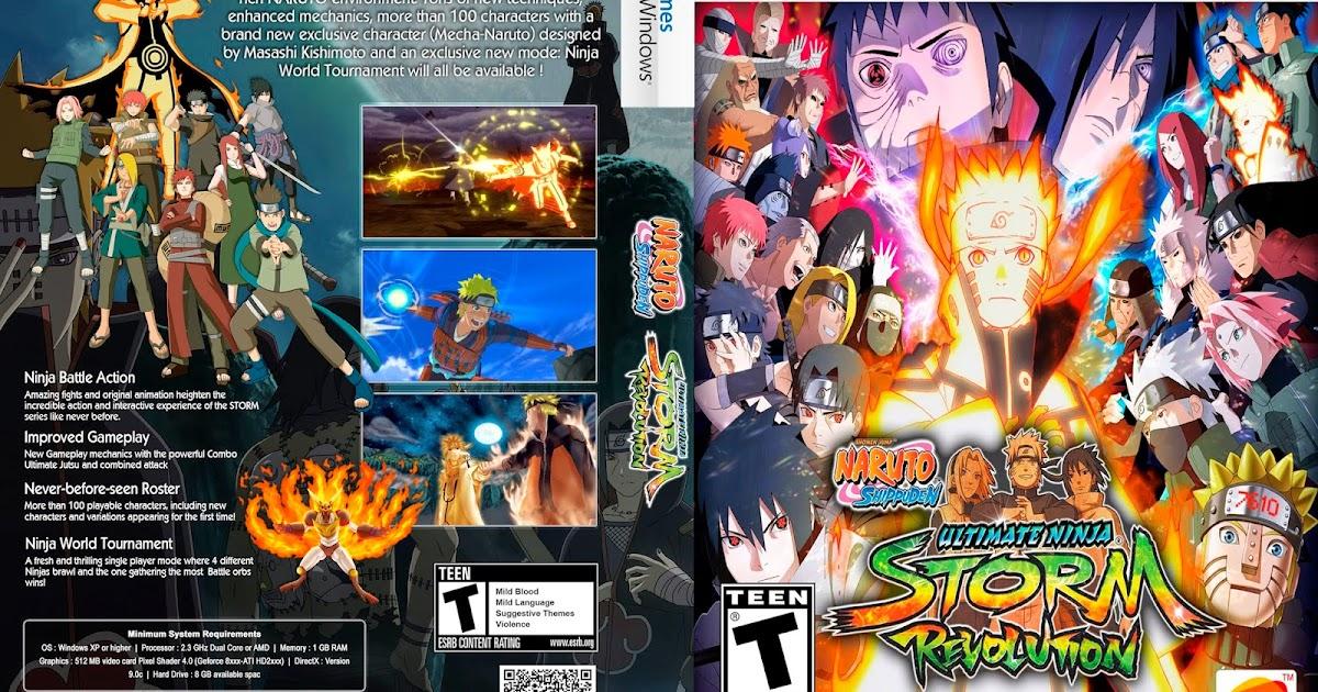Your: Naruto Shippuden: Ultimate Ninja Storm Revolution