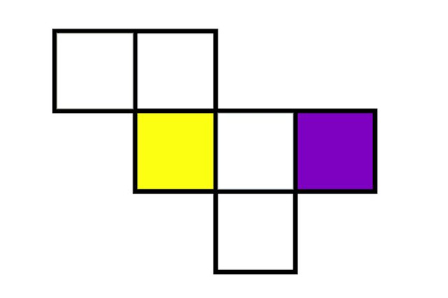 gambar jaring jaring kubus adalah