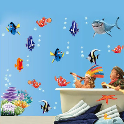NEMO Wall Sticker for Kids Room