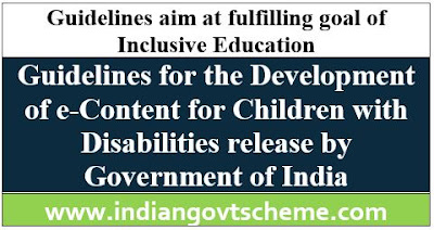 e-Content for Children with Disabilities