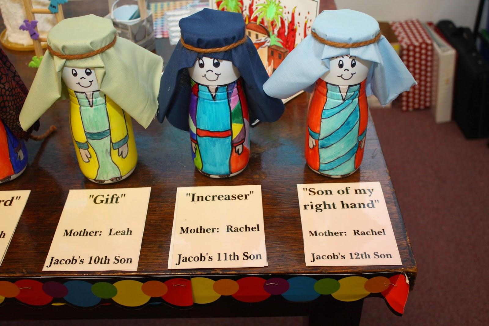 Hands On Bible Teacher Twelve Sons Of Jacob Visual Made