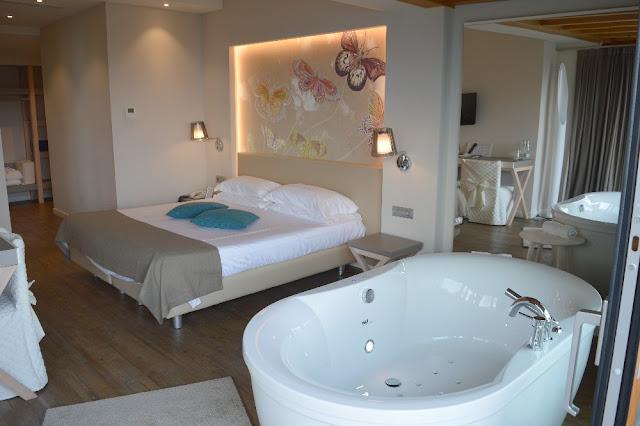 hotel con vasca idromassaggio in camera