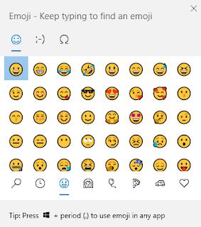 tutorial menampilkan emoji di laptop