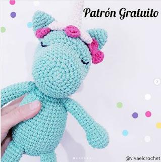 PATRON GRATIS UNICORNIO AMIGURUMI 44601