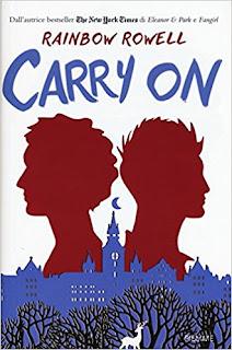 cover italiana Carry On Rainbow Rowell