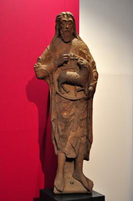 romańska figura św. Jana z wrocławskiej katedry