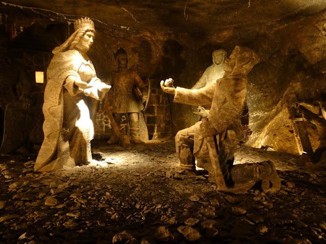 Interior de las Minas de Sal de Wieliczka