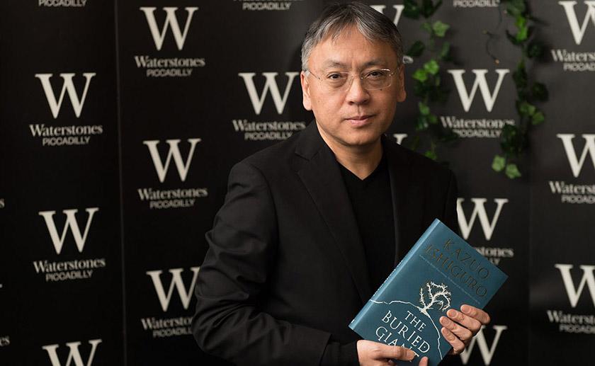 Кадзуо Ішіґуро – британський письменник японського походження, автор світових бестселерів, лауреат Нобелівської премії з літератури (2017)